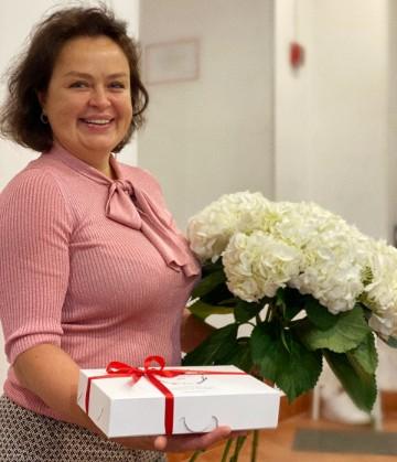 С юбилеем Ирина Беляева!